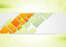 Bright squares design background Stock Photos