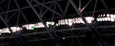 Bright Stadium Lighting Royalty Free Stock Photos