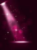 Bright Stage Spotlight vector illustration