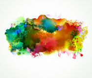 Bright  stains Royalty Free Stock Photography