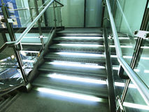 Bright staircase Royalty Free Stock Images