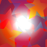 Bright star center spotlight abstract background. Exciting high energy Bright Star abstract background around center spotlight copy space Stock Images