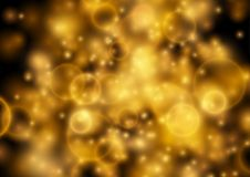 Bright star dust abstract flaring holiday background Stock Image
