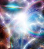 Bright star filled space Royalty Free Stock Photos