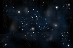 Bright Star in space Stock Photography