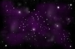 Bright Star in space Royalty Free Stock Images