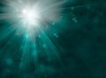 Bright Starburst. Festive Abstract Background Stock Photo