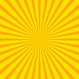 Bright starburst sunburst background with regular radiating li Stock Image