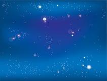 Bright stars Royalty Free Stock Photography