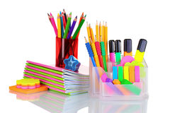Bright Stationery Royalty Free Stock Image