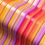 Bright stiped abstract metal background Royalty Free Stock Photography