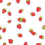 Bright strawberries background Stock Photo