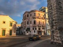 Bright streets of Havana stock image