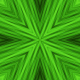 Bright Striped Angular Background of Green Colors. Texture of Symmetric Intersecting Lines from Center Stock Photos