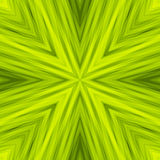 Bright Striped Angular Background of Light Green Colors. Texture of Symmetric Intersecting Lines from Center Stock Photography