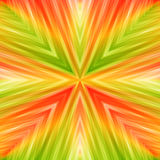 Bright Striped Angular Background of Summer Colors. Colored Texture of Symmetric Intersecting Lines from Center Stock Photos