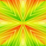Bright Striped Angular Background of Summer Colors. Colored Texture of Symmetric Intersecting Lines from Center Stock Photography
