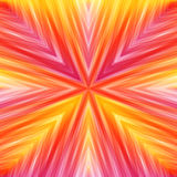 Bright Striped Angular Background of Warm Colors. Royalty Free Stock Photography