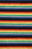 Bright striped fabric. Bright fabric with stripes of different colors stock photography