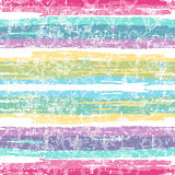 Bright striped seamless pattern Royalty Free Stock Image