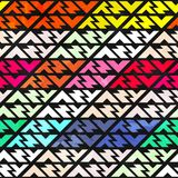 Bright stripes seamless pattern Stock Images