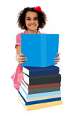 Bright student preparing for examination Royalty Free Stock Photography
