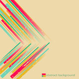 Abstract background. Bright stylish vintage abstract background vector illustration