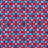 Bright stylized symmetric endless pattern, continuous creative a Stock Photos