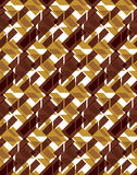Bright stylized symmetric endless pattern, transparent continuou Royalty Free Stock Image