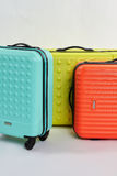 Bright suitcases for summer rest. Royalty Free Stock Image
