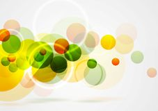 Bright summer geometric background Stock Photography