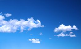 Bright summer sky Royalty Free Stock Photo