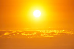 Bright sun Stock Images