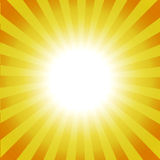 Bright Sunburst Royalty Free Stock Photos