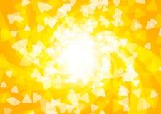 Bright sunny background Stock Image