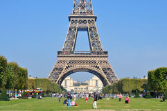 Bright sunny day in Paris Stock Photos
