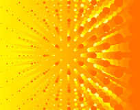 Bright sunny illustration background Stock Photography