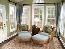 Bright Sunroom Royalty Free Stock Images