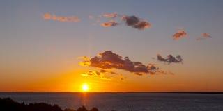 Bright sunset Royalty Free Stock Photo