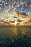 Bright sunset Stock Image