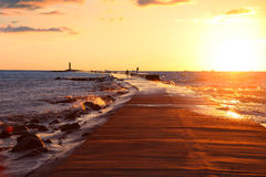 Bright sunset Royalty Free Stock Images