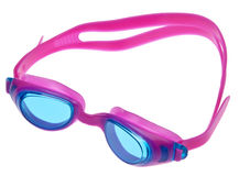 Bright Swim Goggles Royalty Free Stock Photography