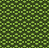 Bright symmetric endless pattern with zigzag black lines, vivid Stock Photos