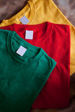 Bright t-shirts Stock Photos