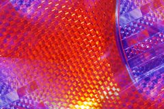 Bright tail light abstract Royalty Free Stock Photography