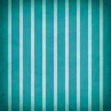 Bright teal blue and white striped pattern background design with texture Royalty Free Stock Photos
