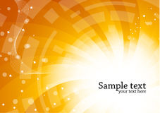 Bright tech background Royalty Free Stock Photos