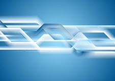 Bright tech striped vector background Royalty Free Stock Photography