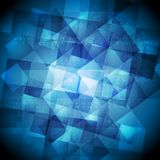 Bright tech vector background Stock Image