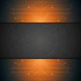 Bright technology background Royalty Free Stock Image